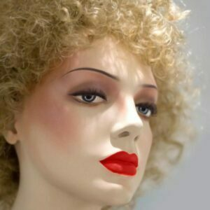 High fashion look from a female mannequin